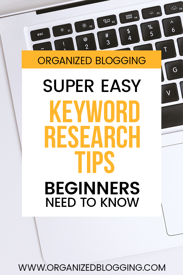 keyword research tips for beginners
