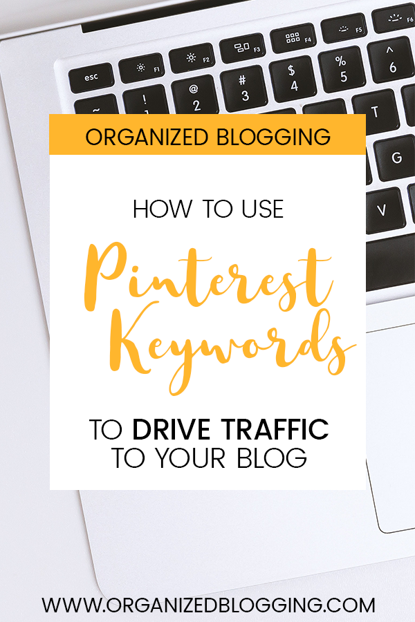 learn how to use Pinterest keywords for your WordPress blog