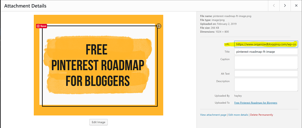 Create a freebie by using your WordPress Medial Library.