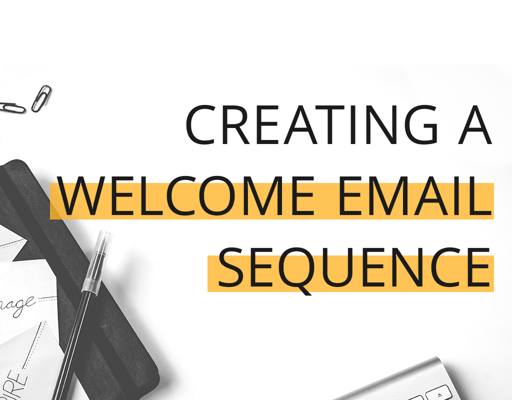 how to create a welcome email sequence for your blog