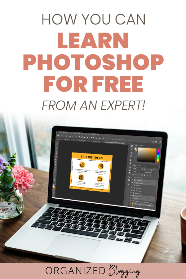 How you can learn photoshop for free from an expert!