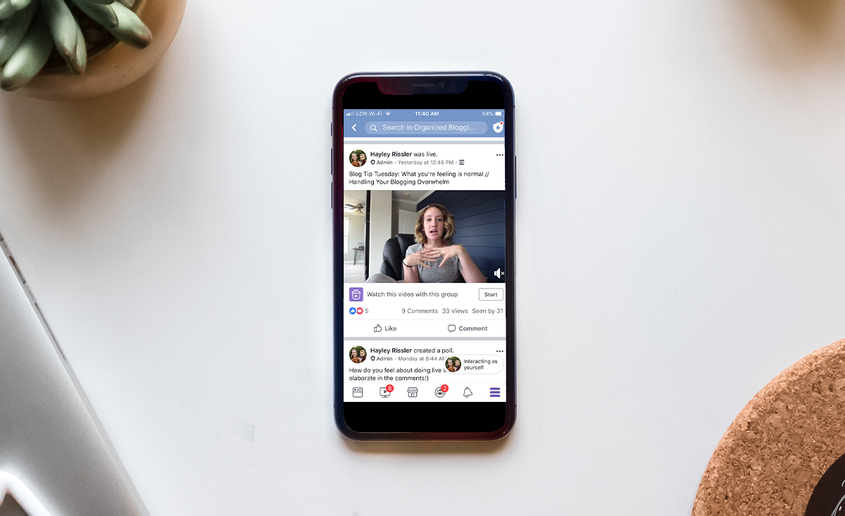 Tips for Doing a Facebook Live Video in 2019